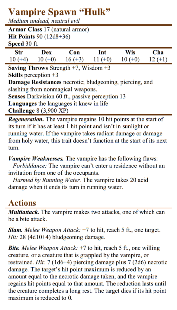 Vampire Hulk